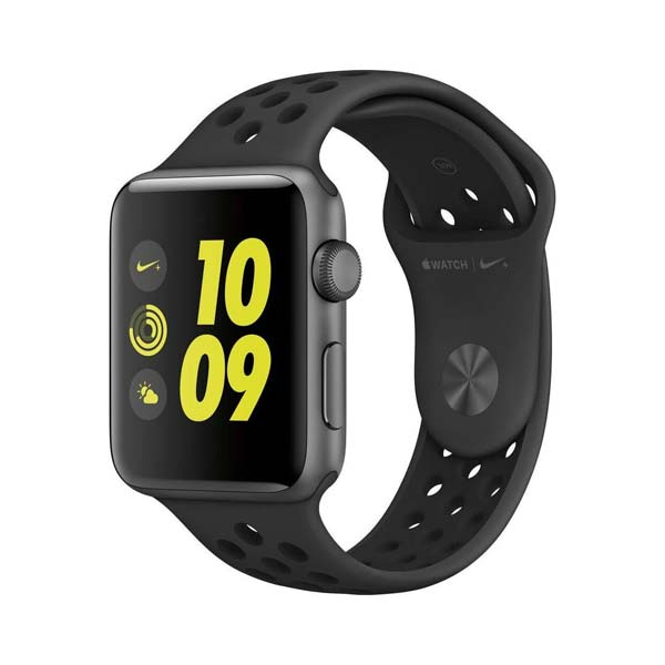 ساعت هوشمند اپل واچ 2 مدل Nike Plus 42mm Space Gray with Black/Gray Band