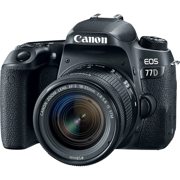 دوربین دیجیتال کانن مدل EOS 77D 18-55mm STM Canon EOS 77D With 18-55mm STM Lens Digital Camera
