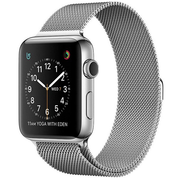ساعت هوشمند اپل واچ 2 مدل 42mm Stainless Steel Case with Milanese Loop