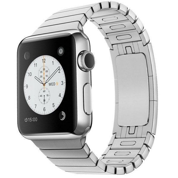 ساعت هوشمند اپل واچ مدل 38mm Stainless Steel Case with Link Bracelet