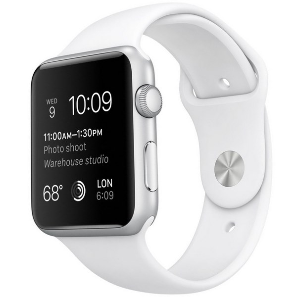 اپل واچ مدل 42mm Silver Aluminum Case with Sport Band