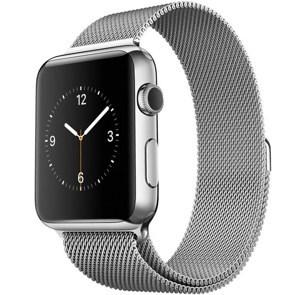 ساعت هوشمند اپل واچ مدل 42mm Stainless Steel Case with Milanese Loop