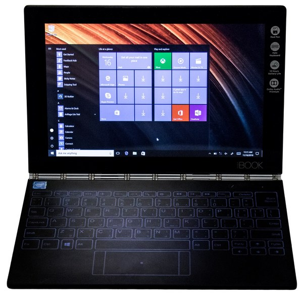 تبلت لنوو مدل Yoga Book With WindowsB-64GB-4G